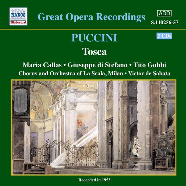 Tosca - G. Puccini - Musik - NAXOS - 0636943125625 - 19/4-2004