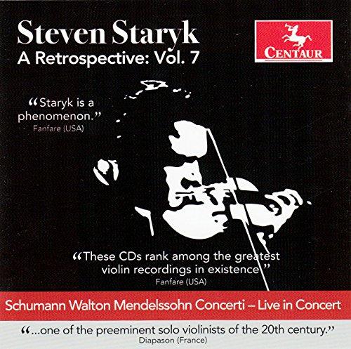 A Retrospective Vol.7 - Steven Staryk - Musik - CENTAUR - 0044747336626 - 7/7-2017