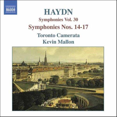Symphony No.14-17 - J. Haydn - Musik - NAXOS - 0747313265626 - May 29, 2006