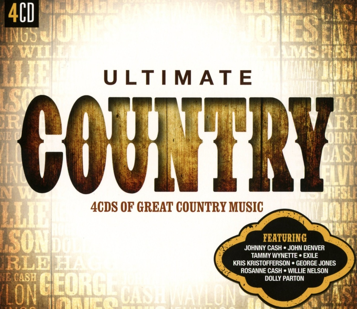 Ultimate... Country - V/A - Musik - LEGACY - 0888750855626 - May 1, 2015