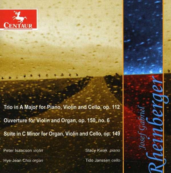 Piano Trio in a Major/6 Pieces for Violin & Organ - V/A - Musik - CENTAUR - 0044747298627 - March 21, 2012