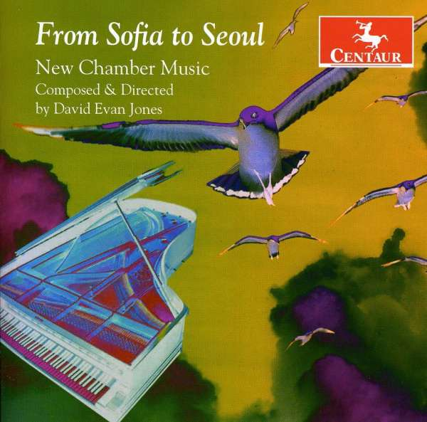 From Sofia to Seoul - New Chamber Music - V/A - Musik - CENTAUR - 0044747300627 - March 21, 2012