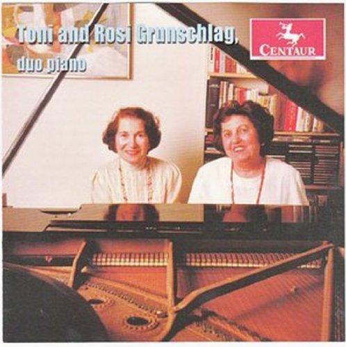 Toni & Rosi Grunschlag: Duo Piano - Bach,j.c. / Grunschlag, Toni & Rosi - Musik - Centaur - 0044747313627 - November 22, 2011