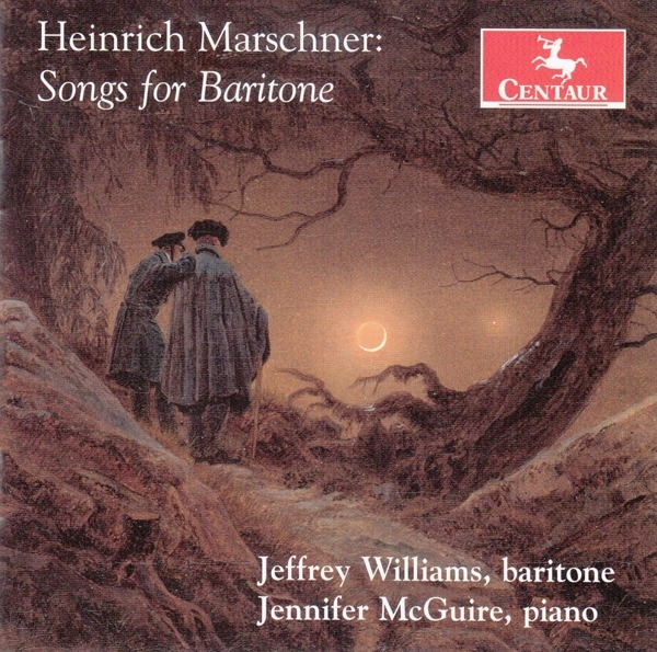 Songs for Baritone - Jeffrey Williams - Musik - CENTAUR - 0044747384627 - April 2, 2021