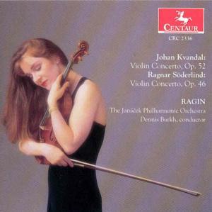 Violin Concertos - Kvandal / Soderlind / Janacek Phil Orch / Burkh - Musik - CENTA - 0044747233628 - 12/8-2000