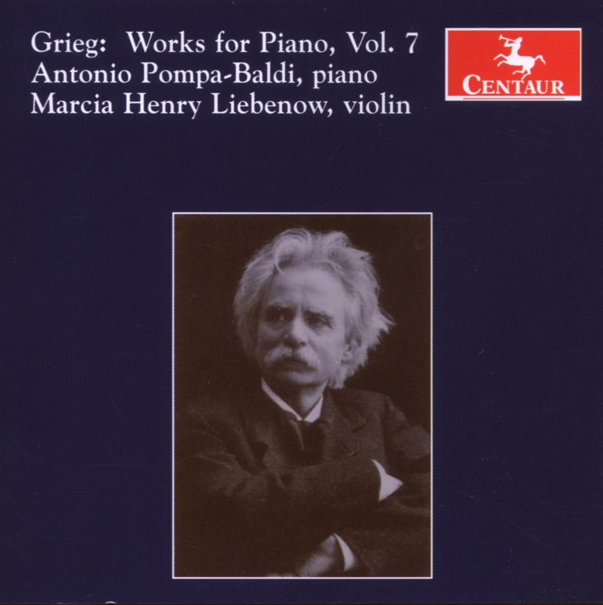 Works for Piano V.7 - Antonio Pompa-baldi - Musik - CENTAUR - 0044747288628 - 30/4-2014