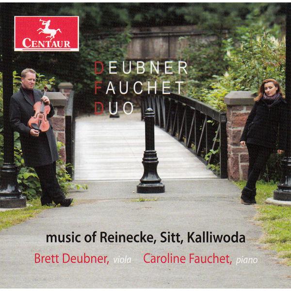 Music of Reinecke, Sitt, Kalliwoda - Deubner Fauchet Duo - Musik - CENTAUR - 0044747332628 - May 8, 2014