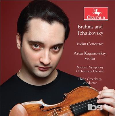 Violin Concertos - Brahms / Tchaikovsky - Musik - CENTAUR - 0044747361628 - May 4, 2018