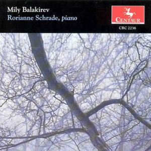 Mily Balakirev - Rorianne Schrade - Musik - CENTAUR - 0044747223629 - 21/6-2005