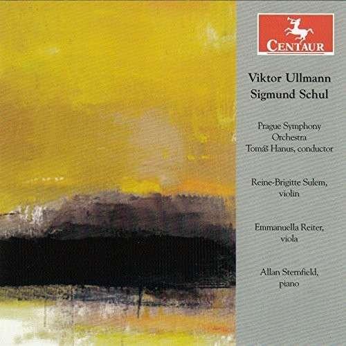 Orchestral Works - Ullmann / Schul / Hanus / Sulem - Musik - Centaur - 0044747335629 - 10/2-2015