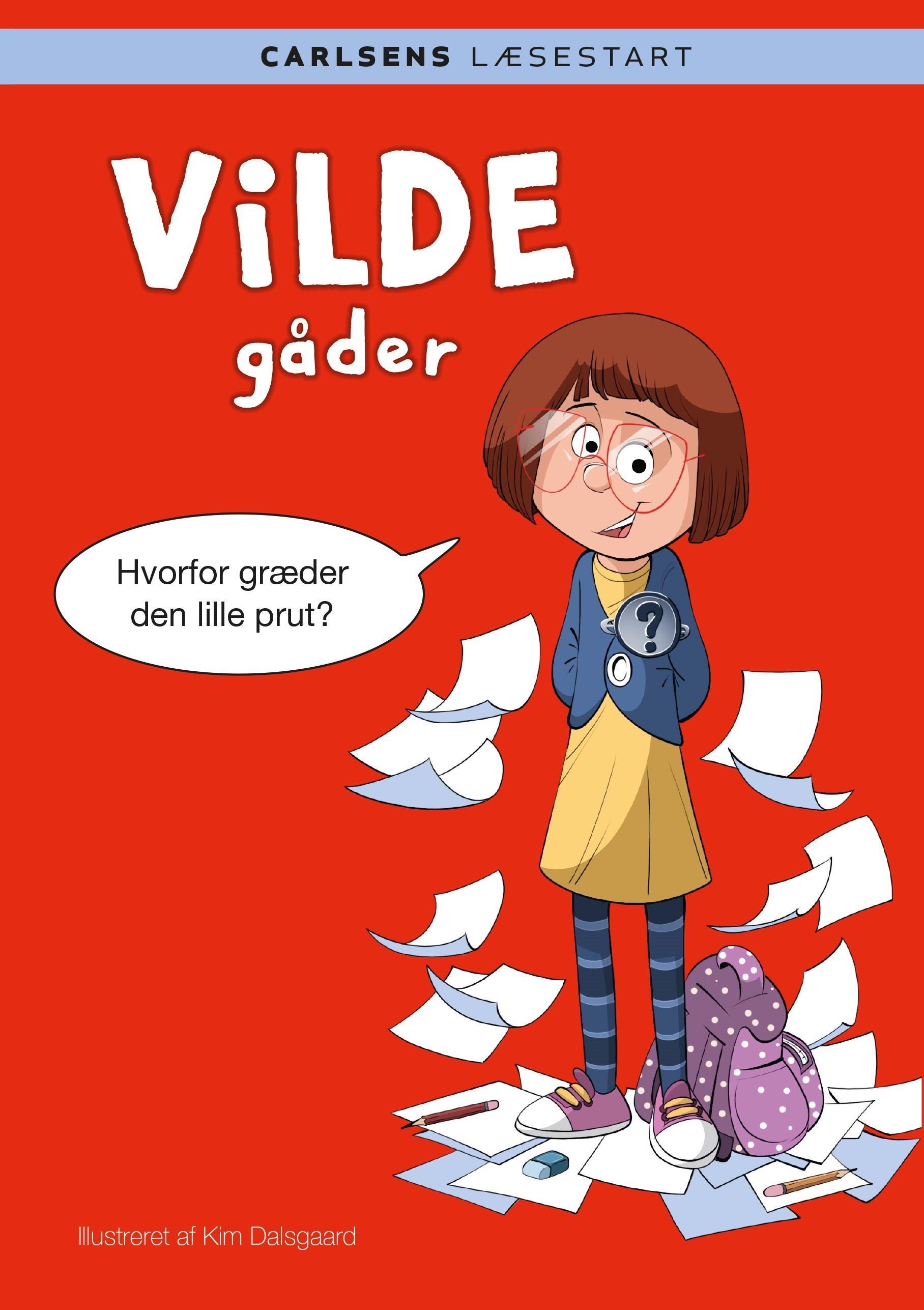 Carlsens Læsestart: Carlsens Læsestart: Vilde gåder - Kim Dalsgaard - Bøger - CARLSEN - 9788711916629 - January 15, 2020