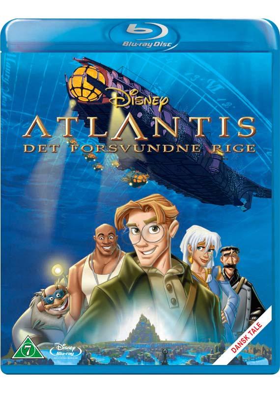Atlantis: Det Forsvundne Rige - Disney - Film - Walt Disney - 8717418414634 - 12/4-2021