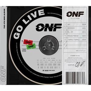 Go Live - Onf - Musik - WM ENTERTAINMENT - 8809658317636 - 8/10-2019