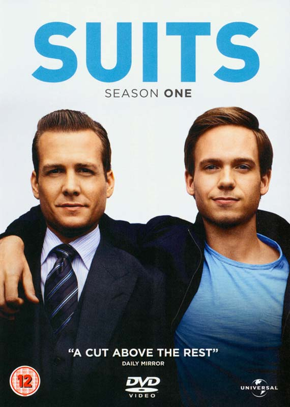 Suits S1 DVD - Warner Video - Film - UNIVERSAL PICTURES - 5050582892642 - 30/4-2012