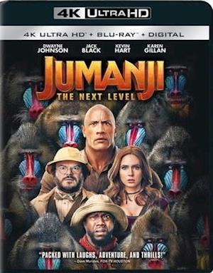 Jumanji: Next Level - Jumanji: Next Level - Film -  - 0043396556645 - 17/3-2020