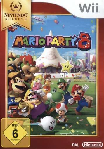 Mario Party 8,Selects,Wii.2134440 -  - Bøger -  - 0045496365646 -