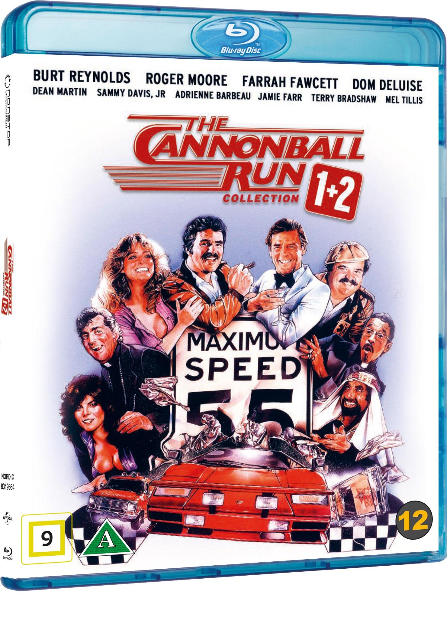 The Cannonball Run Collection (Ud at køre med de skøre) -  - Film -  - 5053083196646 - 26/9-2019
