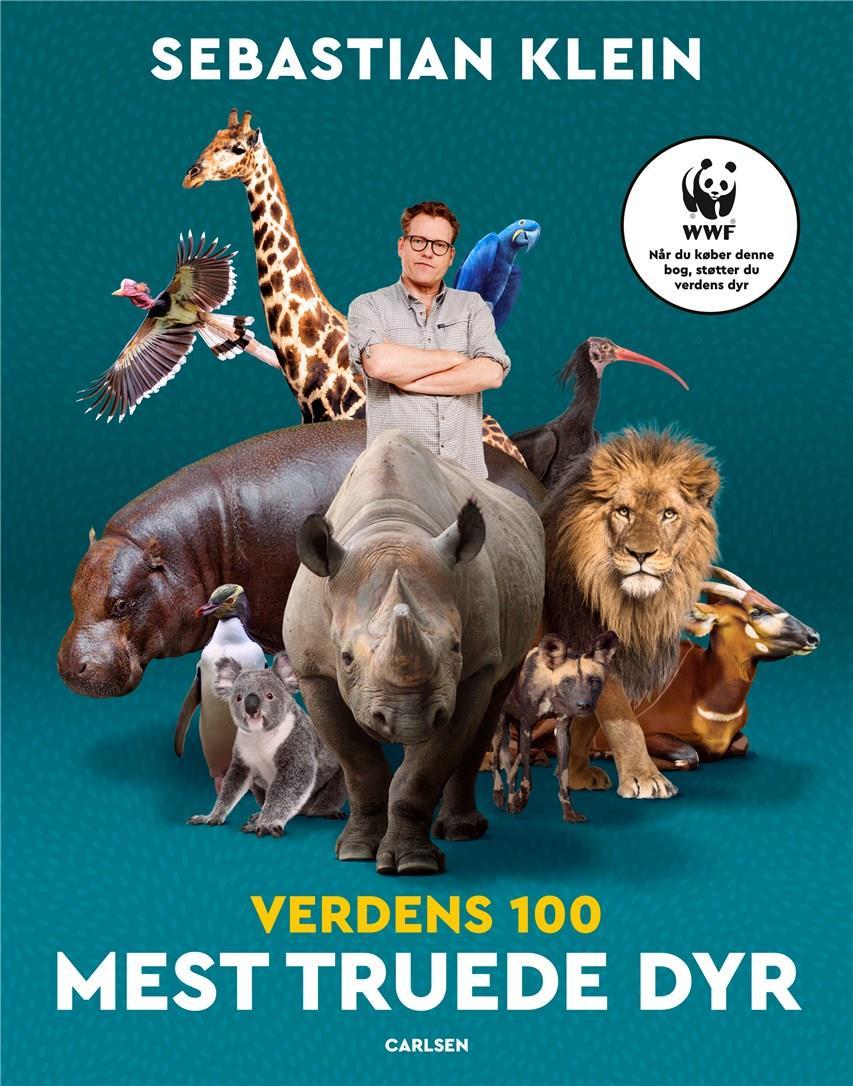 Sebastians 100 dyr: Verdens 100 mest truede dyr - Sebastian Klein - Bøger - CARLSEN - 9788711915646 - March 4, 2021