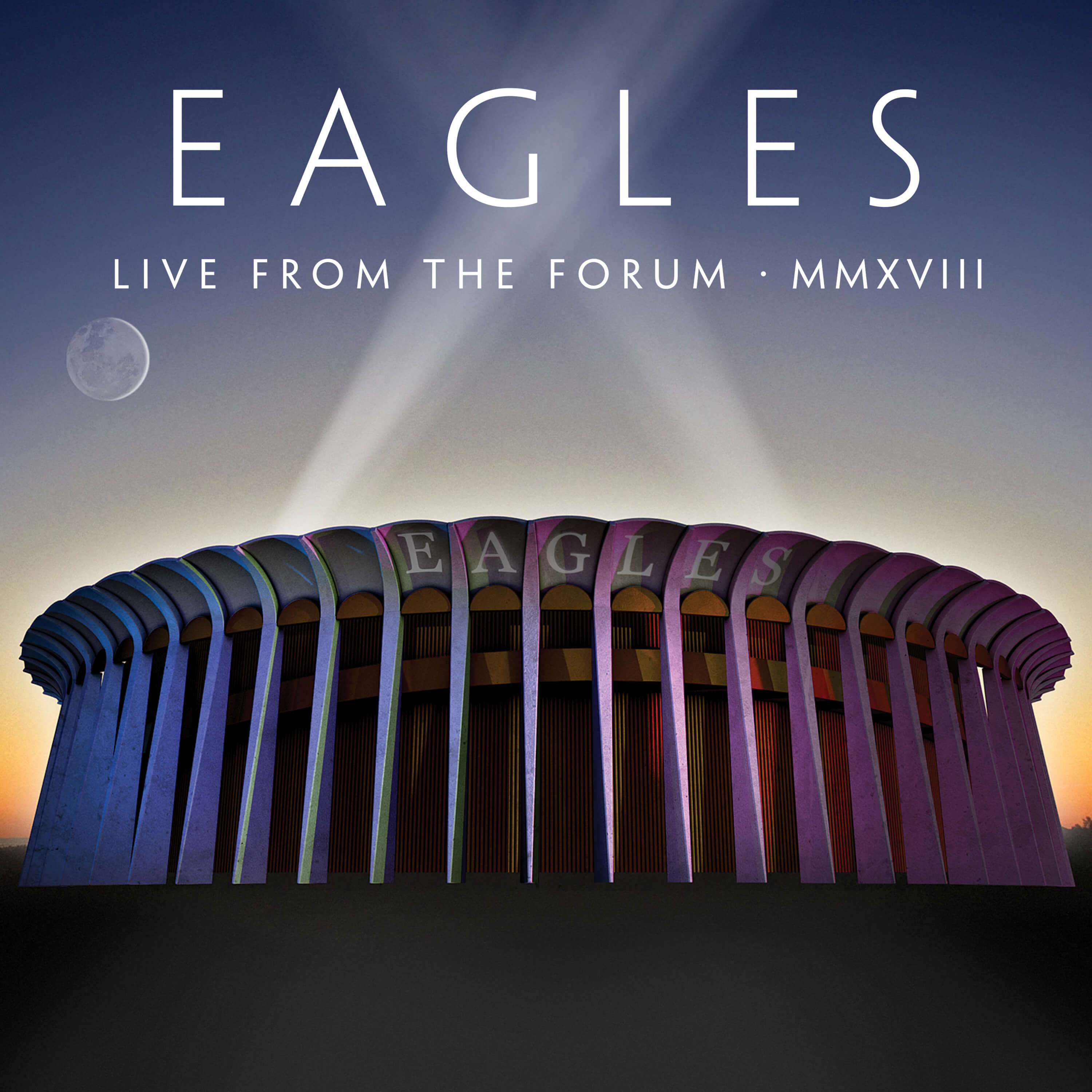 Live from the Forum MMXVIII - Eagles - Musik - RHINO - 0603497847648 - October 16, 2020