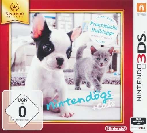 Nintendogs+Cats,Franz.Nint.3DS.2230640 -  - Bøger -  - 0045496528652 -