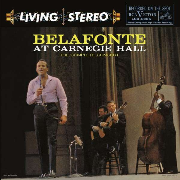 At Carnegie Hall: The Complete Concert - Harry Belafonte - Musik - ANALOGUE PRODUCTIONS - 0753088600661 - December 14, 2020