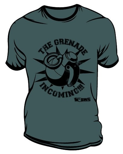 WORMS  Grenade Incoming   TShirt SMALL Clothing -  - Merchandise -  - 5060214948661 -