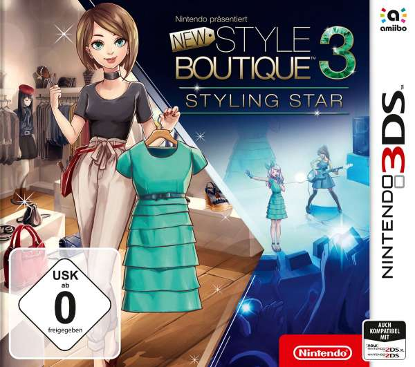New Style Boutique3-Styling.3DS.2239140 -  - Bøger -  - 0045496476663 -