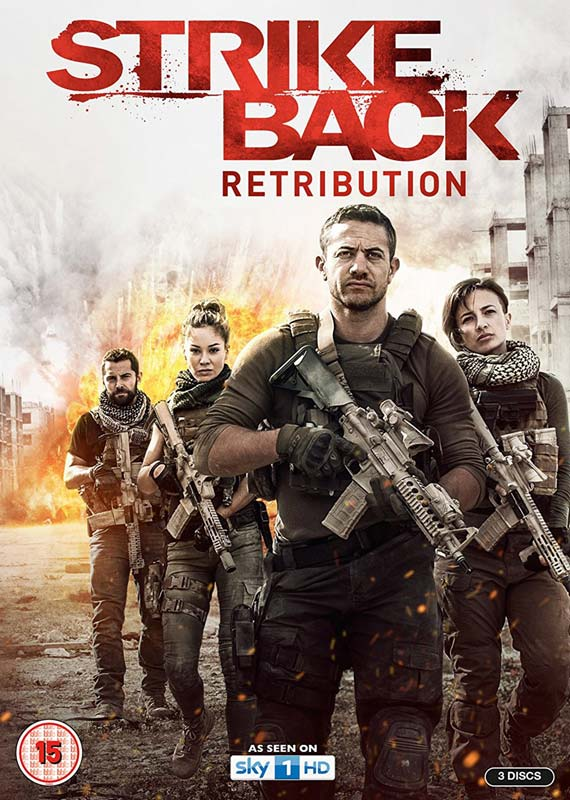 Strike Back Retribution Series 6 - Strike Back - Retribution - Film - BBC WORLDWIDE - 5014138609665 - 5. marts 2018