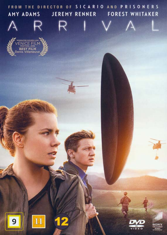 Arrival - Amy Adams - Film - SONY DISTR - WAG - 7330031000667 - April 20, 2017