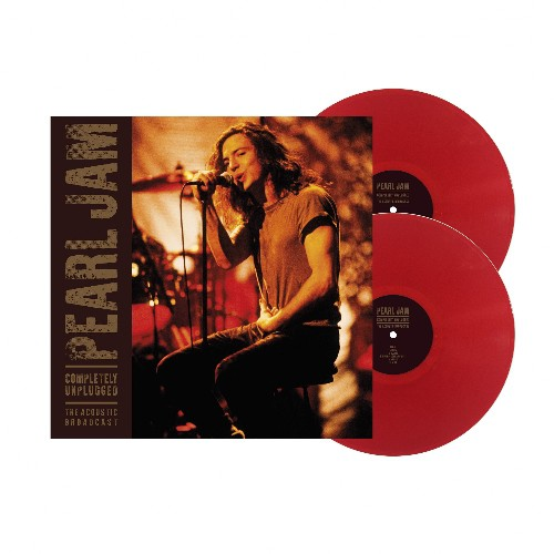 Completely Unplugged (2lp/red - Pearl Jam - Musik - THE BAUHAUS LABEL - 0803341519671 - 7. mai 2021