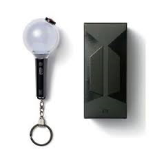 OFFICIAL LIGHT STICK KEYRING SPECIAL EDITION - BTS - Merchandise - Big Hit Entertainment - 8809662359677 - May 1, 2021