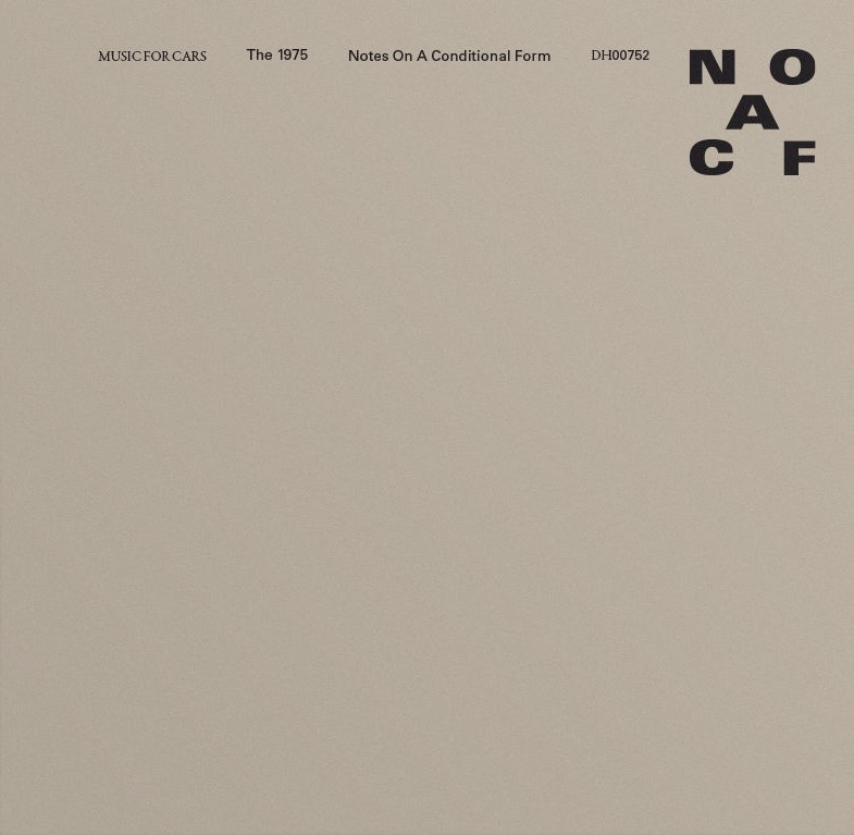 Notes on a Conditional Form - The 1975 - Musik - UNIVERSAL - 0602577658679 - 22/5-2020