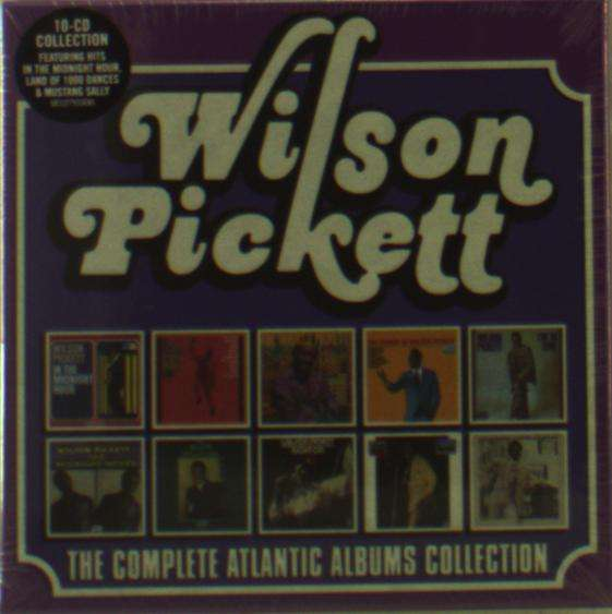 Complete Atlantic Albums - Wilson Pickett - Musik - RHINO - 0081227933685 - November 23, 2017