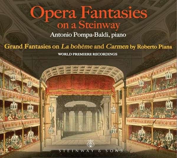 Opera Fantasies on a Steinway - Antonio Pompa-Baldi - Musik - STEINWAY & SONS - 0034062301690 - April 2, 2021