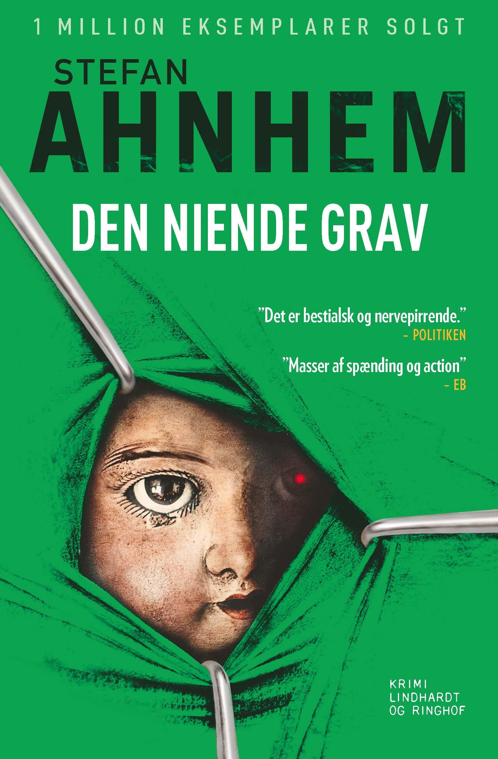 Fabian Risk-serien: Den niende grav - Stefan Ahnhem - Bøger - Lindhardt og Ringhof - 9788711904695 - September 28, 2018