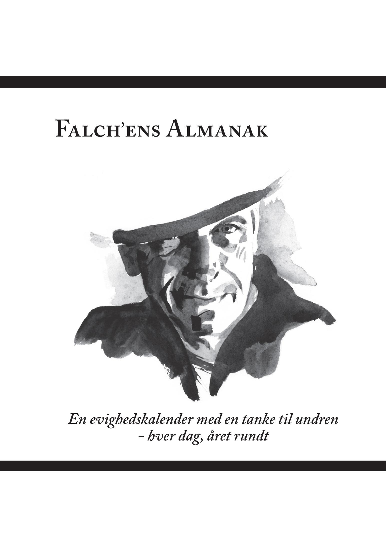 Falch'ens Almanak - Mariette Højsgaard og Michael Falch - Bøger -  - 9788797071700 - 26/10-2018