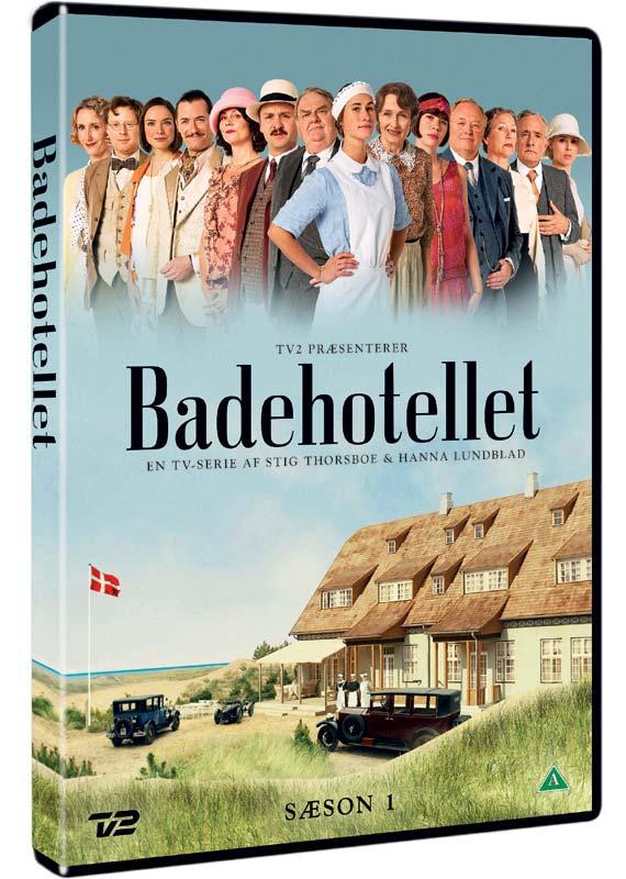 Badehotellet - Sæson 1 - Badehotellet - Film -  - 5706102369704 - 28/1-2021