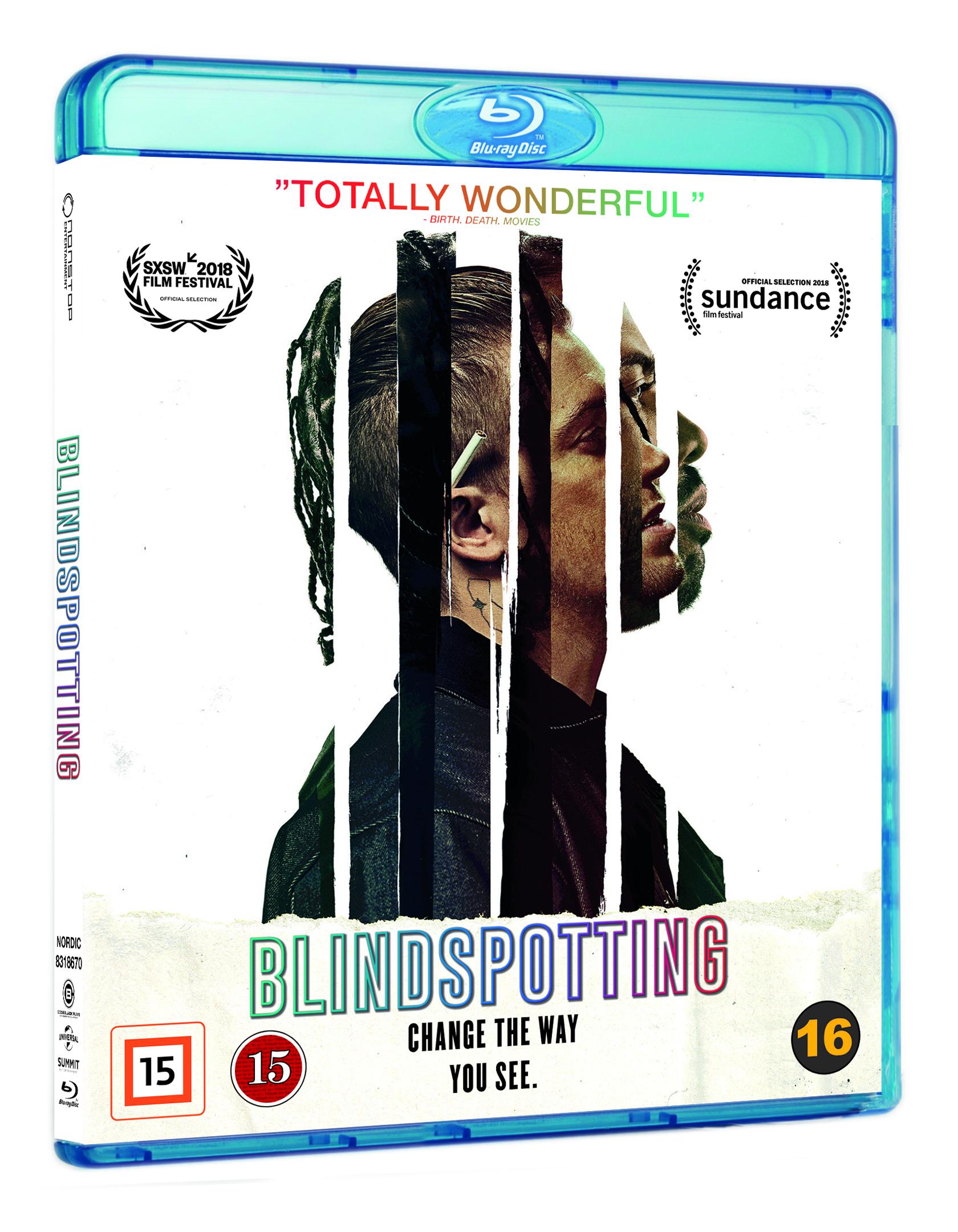 Blindspotting -  - Film -  - 5053083186708 - 11. april 2019