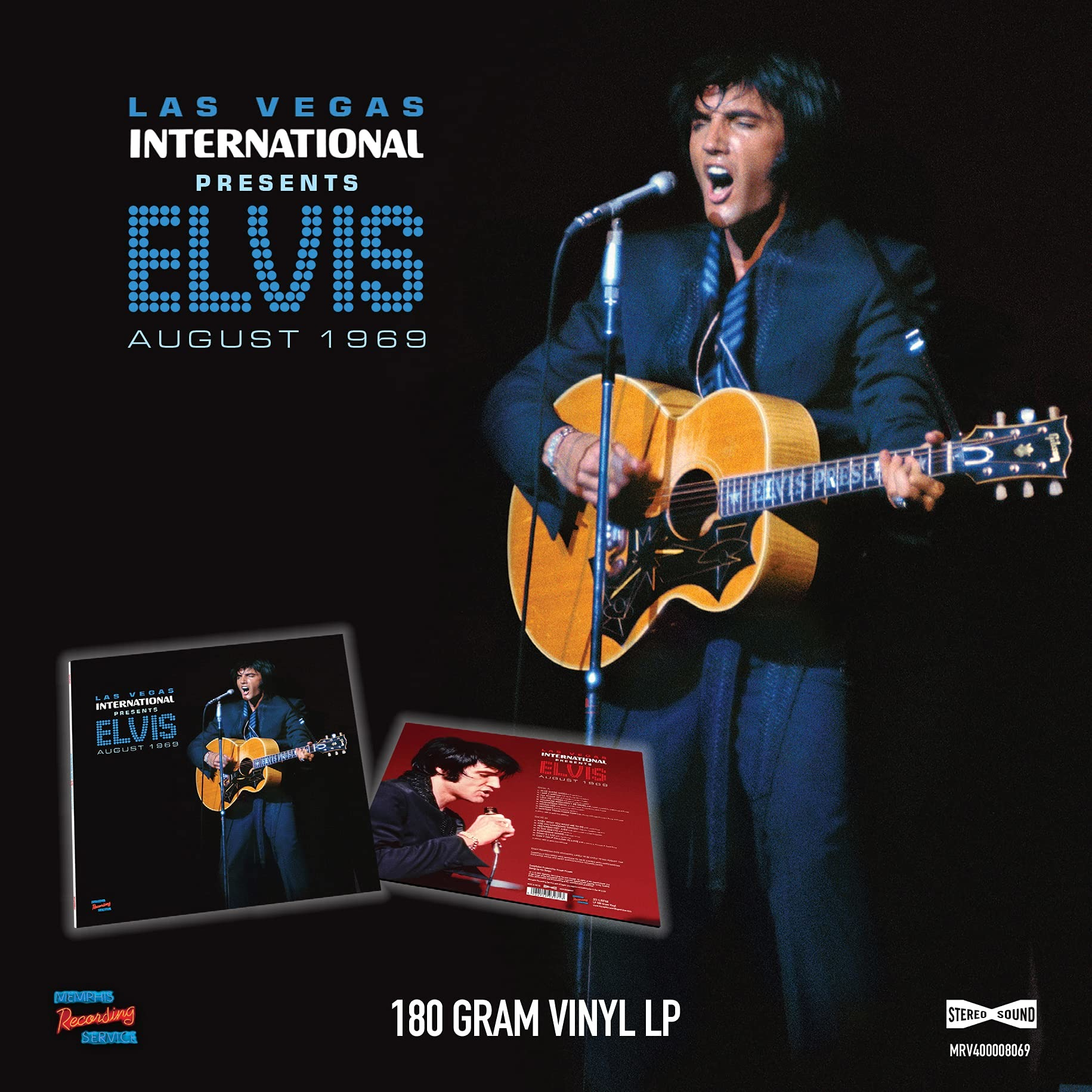 Las Vegas International Presents Elvis - August 1969 - Elvis Presley - Musik - MEMPHIS - 5024545932713 - June 18, 2021