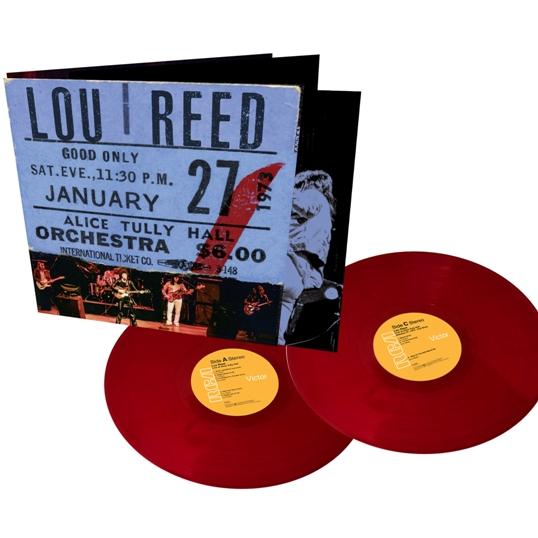 Lou Reed Live at Alice Tully Hall - Lou Reed - Musik - RCA - 0194397868715 - November 27, 2020