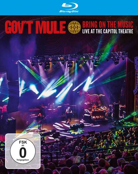 Bring on the Music - Gov't Mule - Film - PROVOGUE - 0819873019718 - 19/7-2019