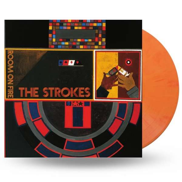 Room on Fire (Translucent Red & Yellow Flame Vinyl) - The Strokes - Musik - RCA - 0194397071719 - 7/2-2020