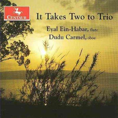 It Takes Two to Trio - Doppler / Navok / Grant / Carmel / Tominaga - Musik - Centaur - 0044747287720 - March 31, 2009