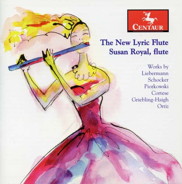 New Lyric Flute - Schocker,gary / Piorkowski / Liebermann / Cortese - Musik - Centaur - 0044747290720 - April 29, 2008