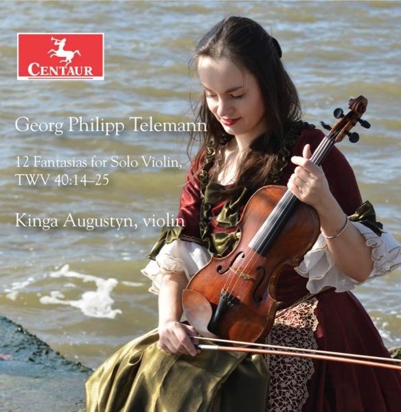 12 Fantasias for Solo Violin, Twv 40:14-25 - G.p. Telemann - Musik - CENTAUR - 0044747360720 - 1/11-2018