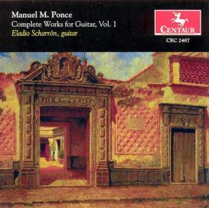 Complete Works for Guitar 1 - Ponce / Scharron - Musik - CAV - 0044747248721 - 27/3-2001
