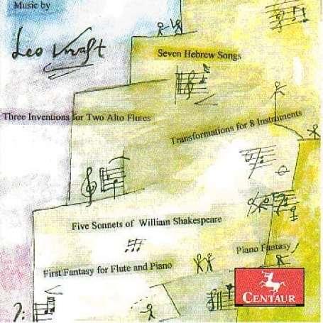 Five Sonnets of William Shakespeare - Kraft / Bleekey / Oldfather / Ritt / Wyton / Solum - Musik - Centaur - 0044747293721 - 24/2-2009