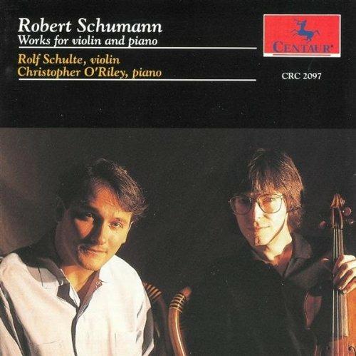 Works for Violin and Piano - O'riley / Schulte - Musik - CENTAUR - 0044747209722 - 30/4-2014