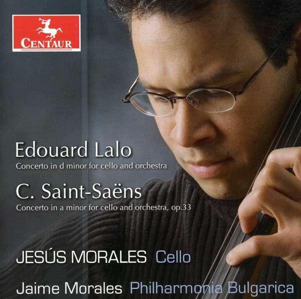 Concerto for Cello & Orchestra - Saint-saens / Lalo / Phil Bulgarica / Morales - Musik - Centaur - 0044747283722 - April 24, 2007