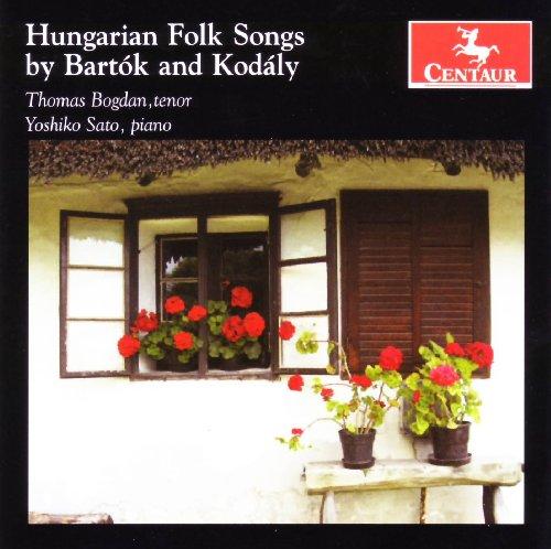Ungarische Volkslieder - Thomas Bogdan - Musik - CENTAUR - 0044747296722 - 2009